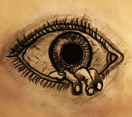 Creepy eye